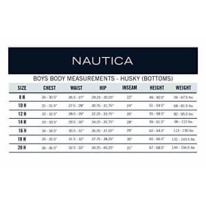 Nautica Boys' Little School Uniform Jogger Short, Lowell Khaki, 7 for $23