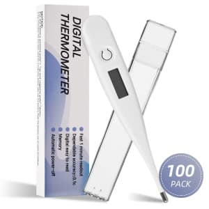 Oral Digital Thermometer 100-Pack for $199