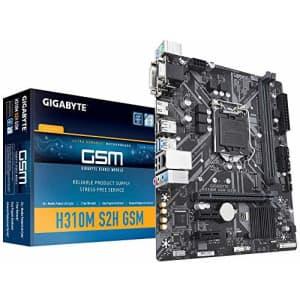 Gigabyte LGA1151/ Intel/ H310/ Micro ATX/ DDR4/ HDMI 1.4/ M.2 Motherboard (H310M S2H GSM) for $93