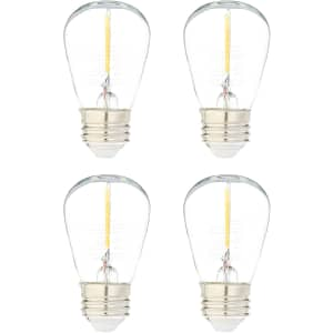 Amazon Basics Replacement LED String Light Bulb 4-Pack for $9