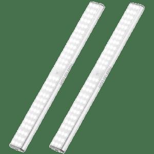 Yiger 78-LED Magnetic Under Cabinet Light 2-Pack for $30