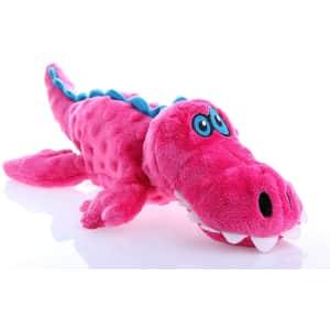 goDog Gators with Chew Guard Technology Tough Plush Dog Toy for $15