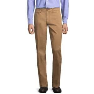 St. John's Bay Men's Slim Fit Pants for $9