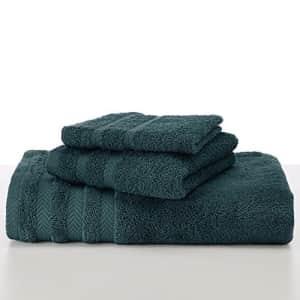 Martex Egyptian with DryFast, Wash Cloth, Dark Aqua for $17