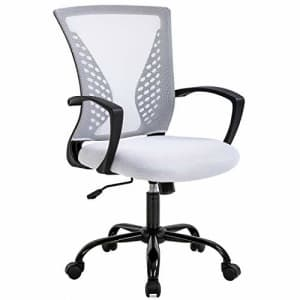 BestOffice Mesh Office Chair Ergonomic Desk Chair Computer Chair with Lumbar Support Armrest Rolling Swivel for $60