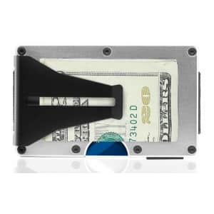 Renewgoo Ultra-Slim RFID Aluminum Wallet for $15