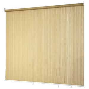 Costway 6x6-Foot Roller Light Filtering Protection Window Shade Blind for $60