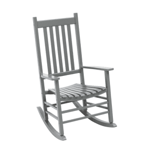 Jack Post Knollwood Gray Wood Rocking Chair for $110