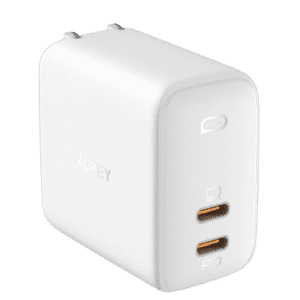 Aukey Omnia 65W Dual-Port PD Charger for $23