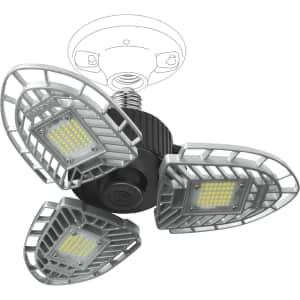 FarPoint LED Swivel Garage/Ceiling Light for $15