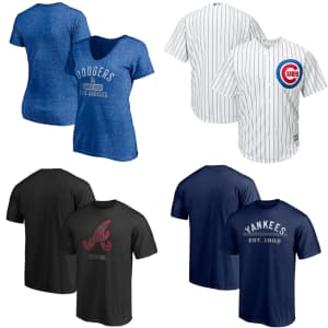 MLB Shop Clearance: Up to 65% off