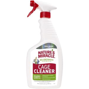 Nature's Miracle Cage Cleaner 24-oz. Bottle for $4