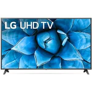 """LG 75UN7370PUE Alexa Built-In UHD 73 Series 75"""" 4K Smart UHD TV (2020) for $1,045"""