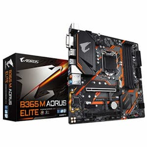 Gigabyte M Aorus Elite Intel B365 LGA 1151 Micro ATX DDR4-SDRAM Motherboard for $213