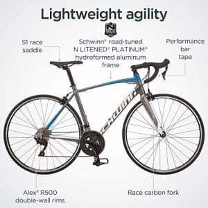 Schwinn Fastback Carbon Road Bike, Fastback AL105, 54cm/Large Frame for $2,375