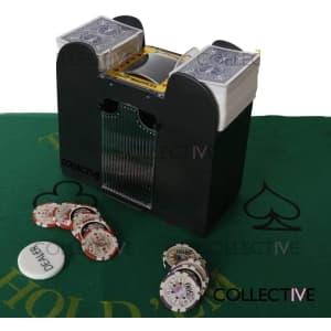 Visionstar 6-Deck Automatic Card Shuffler for $24