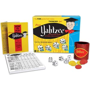 Classic Yahtzee Dice Game for $11