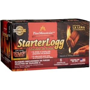 Pine Mountain StarterLogg Select-A-Size Firestarting Blocks 24-Pack for $22