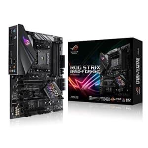 ASUS ROG Strix B450-F Gaming Motherboard (ATX) AMD Ryzen 2 AM4 DDR4 DP HDMI M.2 USB 3.1 Gen2 B450 for $120