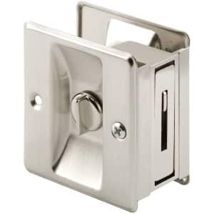 Prime-Line Pocket Door Privacy Lock for $14