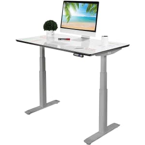 Seville Classics Airlift S3 Dry-Erase Board Top Electric Height-Adjustable Standing Desk for $424
