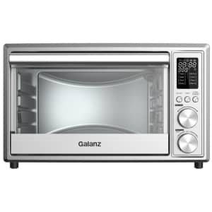 Galanz 0.9-Cu. Ft. Stainless Steel Digital Air Fry Toaster Oven for $72