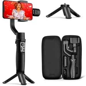 Hohem 3-Axis Gimbal Stabilizer for iPhone 11 for $99