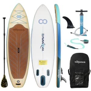 Woowave 10.5-Foot Inflatable Stand Up Paddle Board for $300