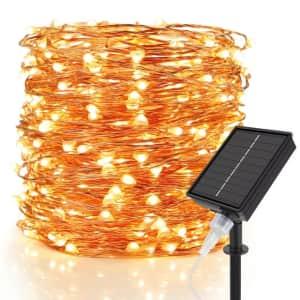 Moobibear 99-Foot Solar String Lights for $13