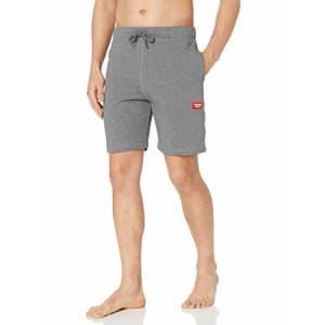 Diesel Men's UMLB-PAN Shorts, Dark Grey Melange, XX-Large for $54