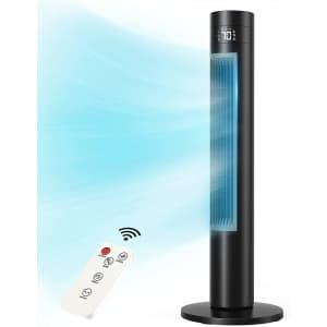 "Selanto 36"" Oscillating Tower Fan for $46"