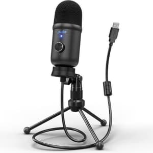 Moukey USB Condenser Microphone for $23