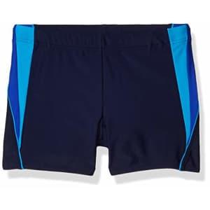 Speedo Men's Swimsuit Square Leg Splice,Navy/Blue,X-Large for $48