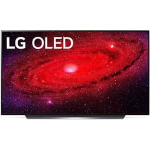 "LG OLED65CXPUA Alexa Built-In CX Series 65"" 4K Ultra HD Smart OLED TV (2020) (Renewed) for $1,900"