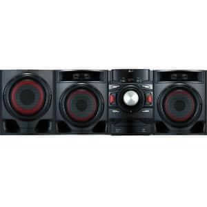 LG XBOOM 700W 2.1-Channel Bluetooth Mini Shelf Speaker System w/ Subwoofer for $184