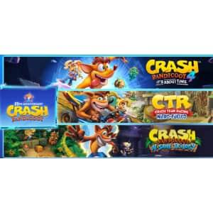 Crash Bandicoot Crashiversary Bundle for Switch for $60
