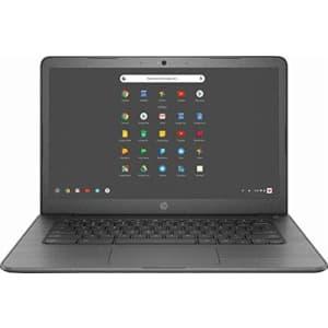 "2019 Newest HP 14"" Lightweight Chromebook-AMD A4-Series Processor, 4GB LPDDR4 RAM, 32GB SSD, WiFi, for $214"