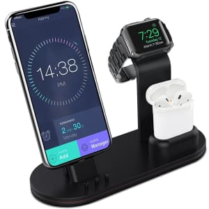 Olebr Apple Watch / Airpods / iPhone Charging Stand for $28