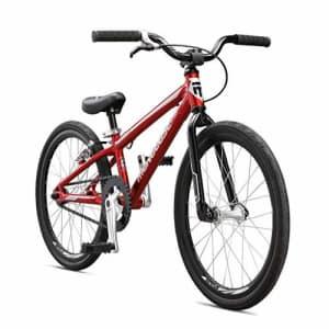 Mongoose Title Micro BMX Race Bike, 20-Inch Wheels, Beginner to Intermediate Riders, Lightweight for $350
