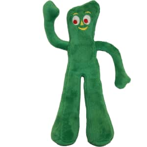 Multipet Gumby Plush Dog Toy for $3