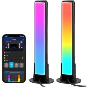 Govee Flow Plus Smart LED Light Bars for $45