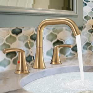 WaterSong 3-Hole Bathroom Faucet for $45