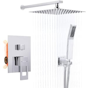 """Dalmo 10"""" Rain Shower Head and Handheld Shower Combo for $80"""