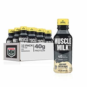 Muscle Milk Pro Series Protein Shake, Go Bananas, 32g Protein, 14 Fl Oz, 12 Pack for $52