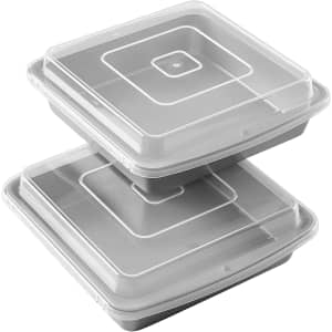 """Wilton Recipe Right 9"""" Non-Stick Baking Pans Set 2-Pack for $16"""