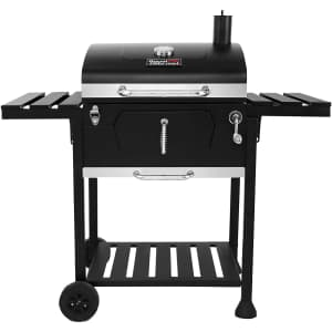 """Royal Gourmet 24"""" Charcoal Grill Outdoor Smoker for $160"""