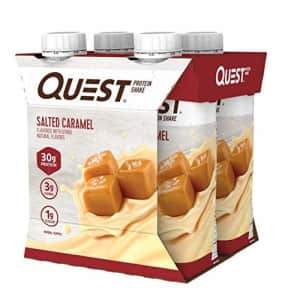 Quest Nutrition Ready to Drink Salted Caramel Protein Shake, High Protein, Low Carb, Gluten Free, for $20