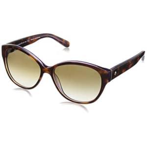 Kate Spade New York Women's Kiersten 2 Oval Sunglasses, Purple Tortoise, 56 mm for $59