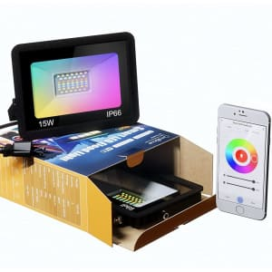 Omibrite RGB LED Flood Light for $27