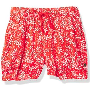 Roxy girls In the End Casual Shorts, Poppy Red Betty, 10 US for $23